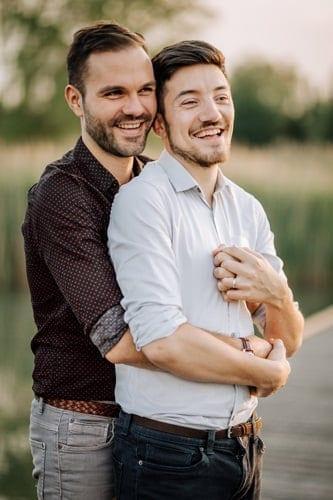séance photos gay