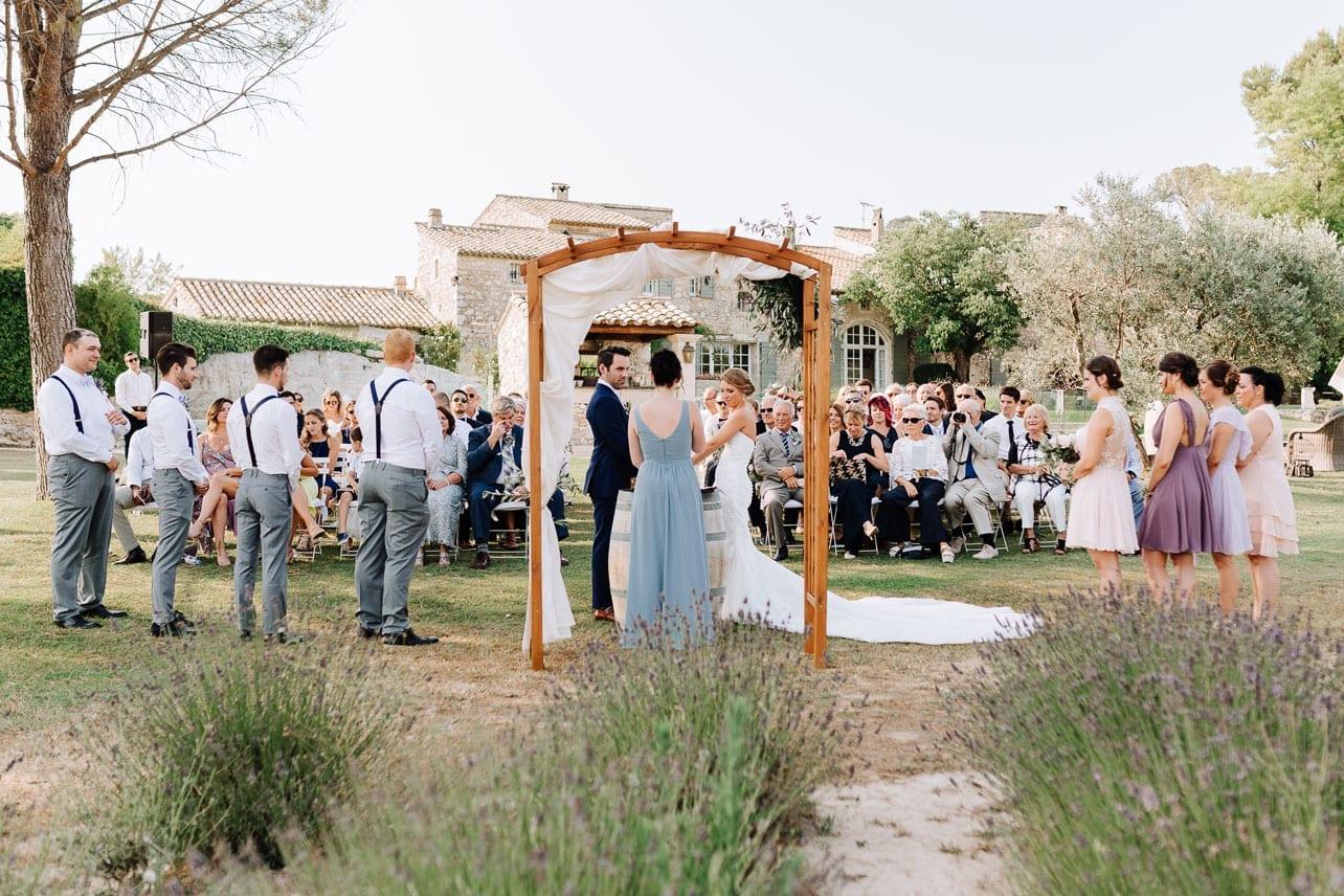 cérémonie laïque mariage provence