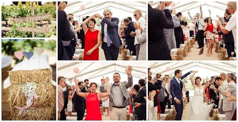 ceremonie laique vigne