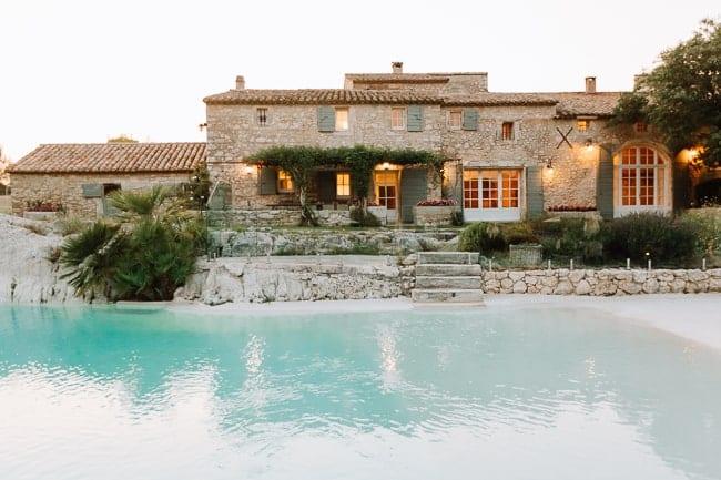 Mas Rose wedding venue Alpilles Provence