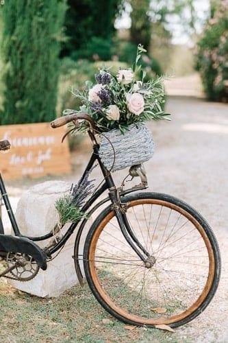 décoration mariage mas de la rose