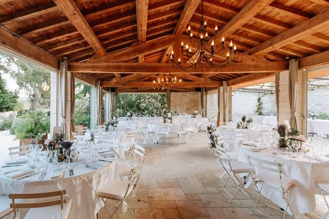 mariage au mas de la rose en provence