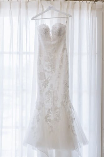 wedding dress mas de la rose