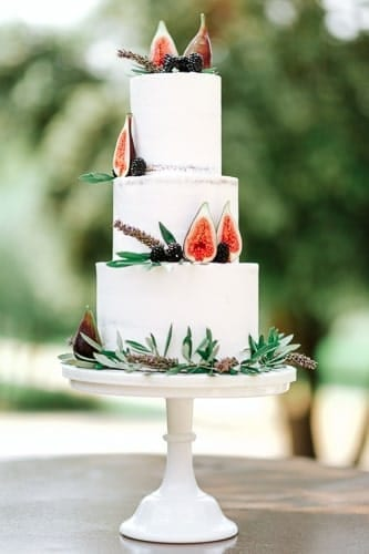 Wedding cake mas de la rose
