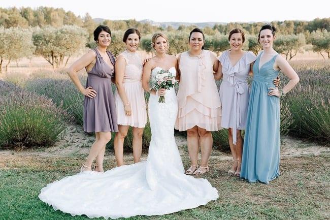 photos groupe demoiselles d'honneur