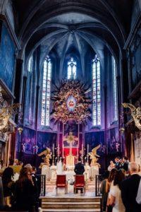 photographe mariage cathédrale Saint Siffrein Carpentras