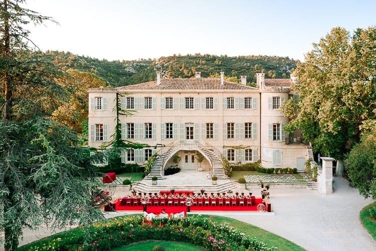Estoublon castle wedding Alpilles