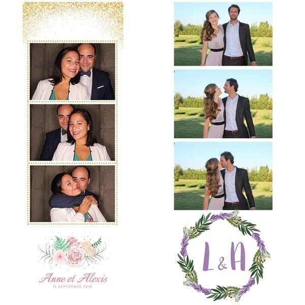 Location photobooth avignon vaucluse provence mariage