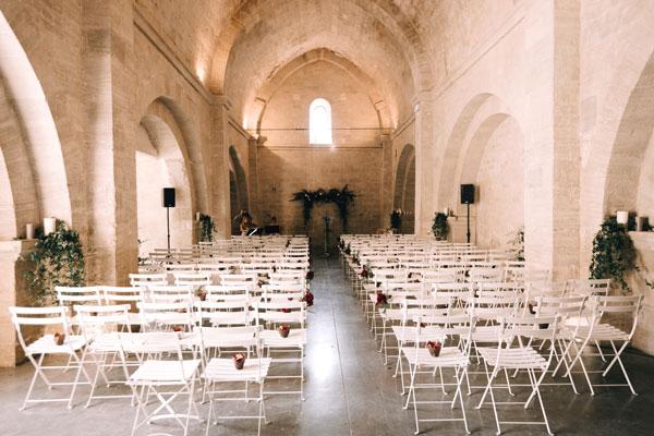 Wedding reception venues in Luberon