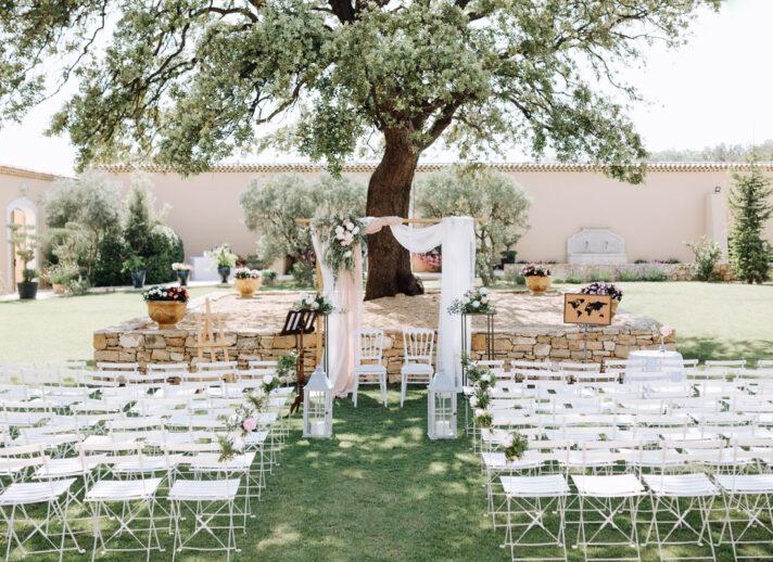 lieux reception mariage provence