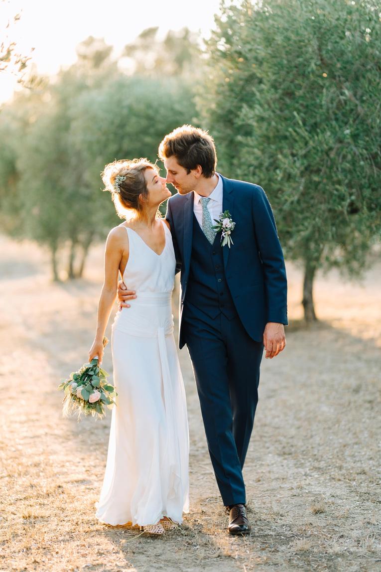 photo d'un couple de mariés à Nîmes