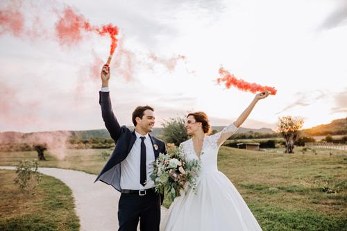 photos de mariage à Nîmes dans le Gard en France